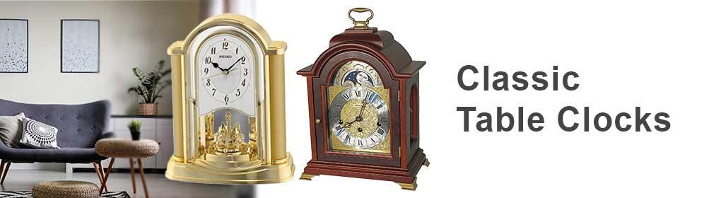 Tischuhren klassisch