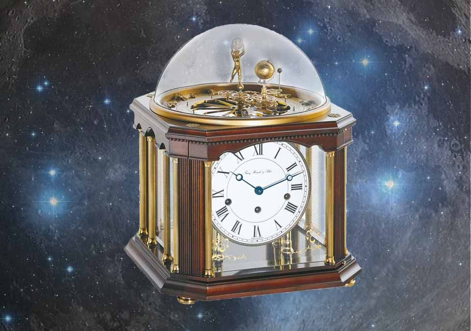The Tellurium by Hermle – A Masterpiece among Table Clocks