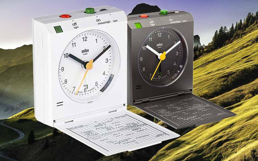Foldable Travel Alarm