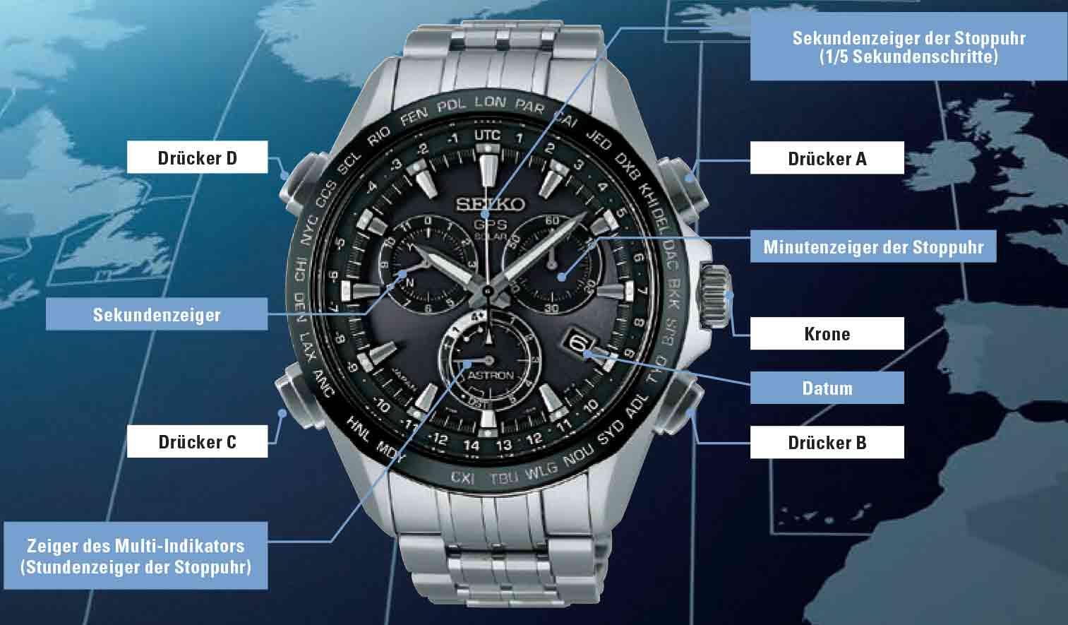 Seiko SSE003J1 Astron GPS_Solar