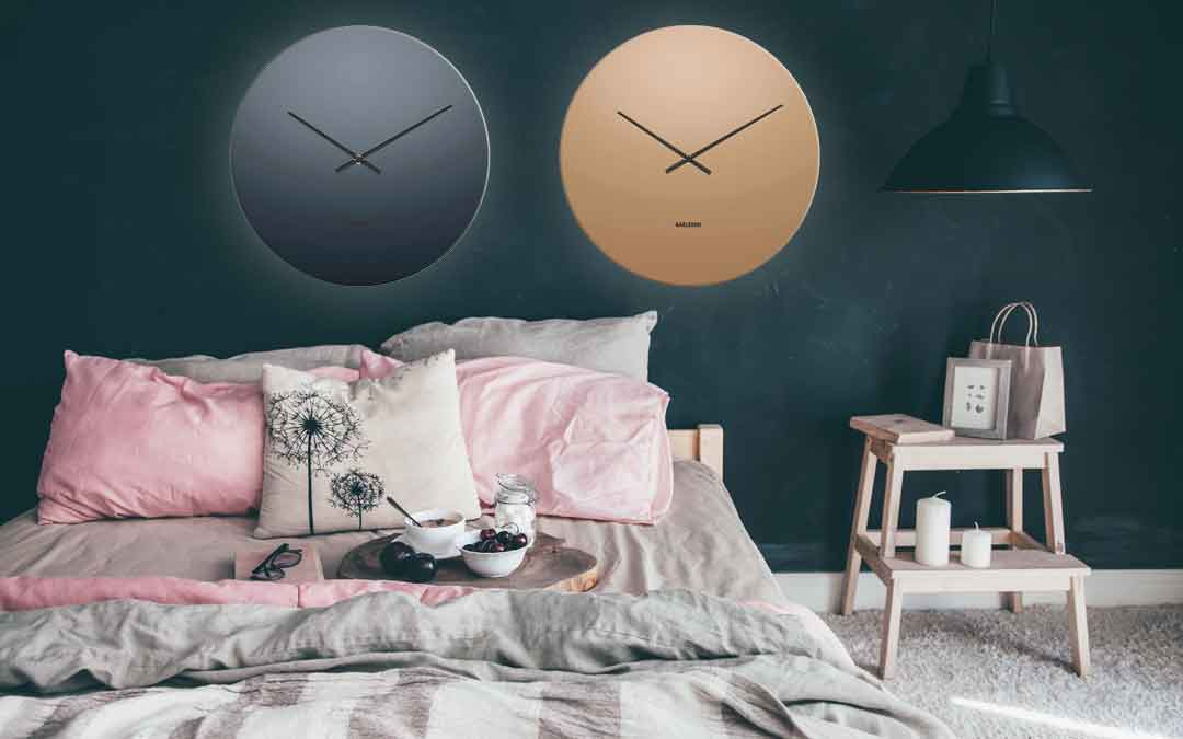 Karlsson KA5668BK Mirror clock