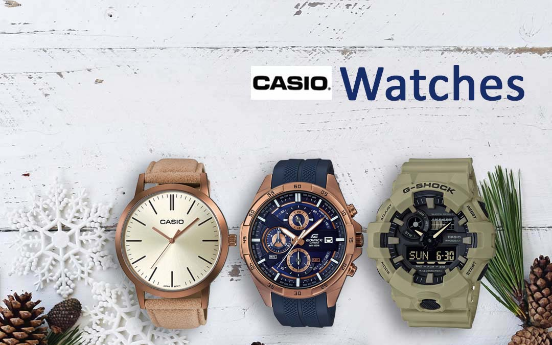 Giving Away Casio Watches for Christmas