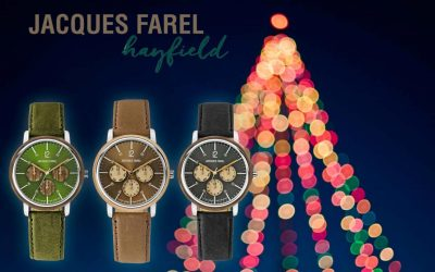 Jacques Farel Hayfield Watches as a gift