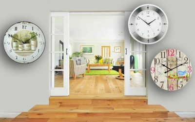 Why buy wall clocks for the living room online?