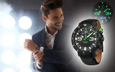 Watches illumination and luminous numerals