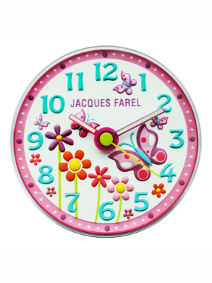 kid's wall clock Jacques Farel WAL-01