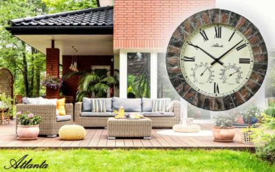 The outdoor clock Atlanta 4479 for the autumn season
