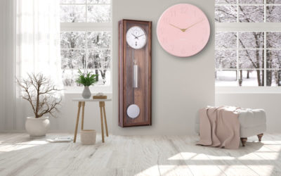 Wall clocks for a cosy ambience