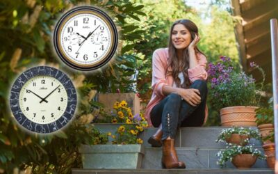 Outdoor clocks for every season
