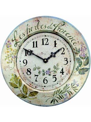 Wall clocks trend: Roger Lascelles TIN/HERBES
