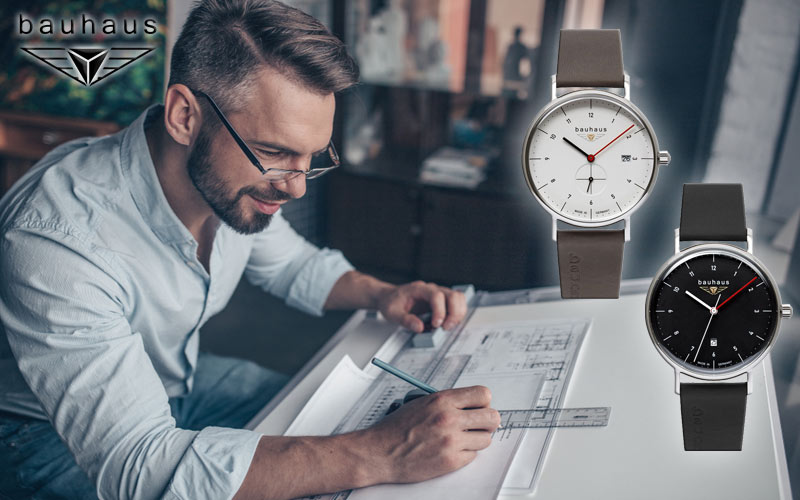 Our new Bauhaus wristwatches