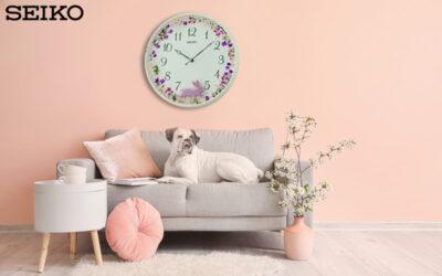 Seiko QXC238W wall clock for every age