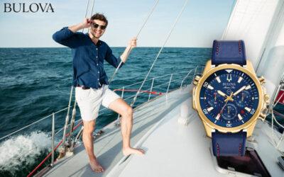 Maritime men's watch Bulova 97B168