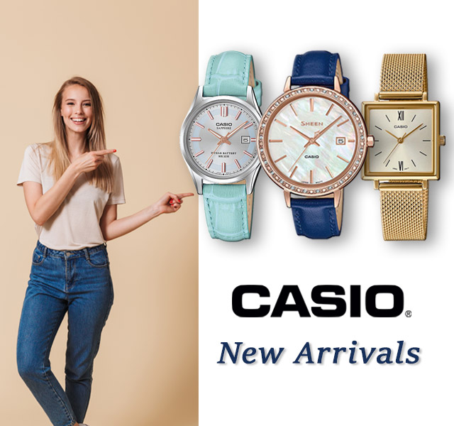 Casio New Arrivals