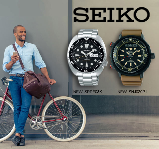 Seiko New Arrivals