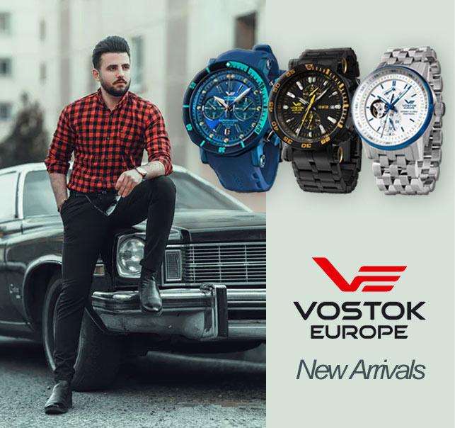 Vostok Europe New Arrivals 2021