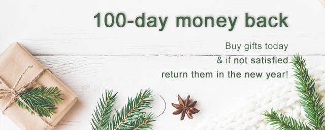 100-day money back