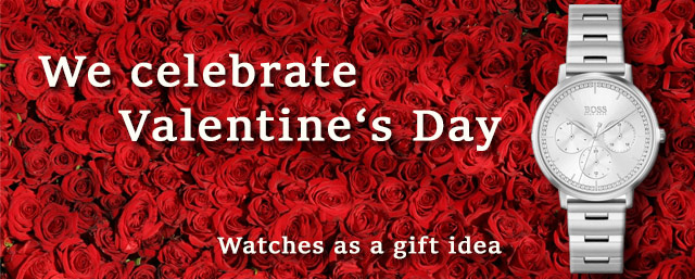 Watches for Valentine's Day