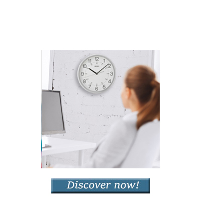 <b>Office Clocks</b>Always the time in sight